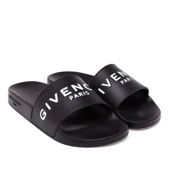 83e057a615d7 Givenchy Shoes - Givenchy Women s Black Slides
